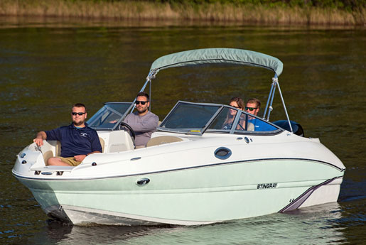 Stingray-214LR from All Star Marine